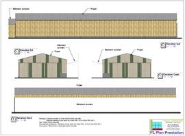 Stabulation pour jeunes bovins (Orne 61)