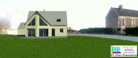 Maison à ossature bois (Calvados 14)