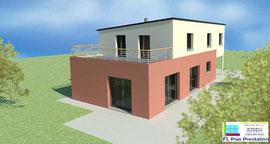 Maison contemporaine (Calvados 14)