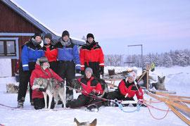tolle Gruppe nach  einer  41  km Tour!