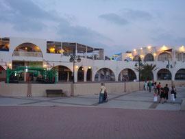 Place des kshatot le soir