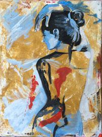 Acryl auf Leinen, 60 x 80 cm
