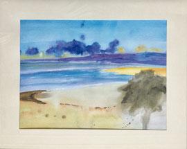 Düne, Aquarell, 40 x 50 cm