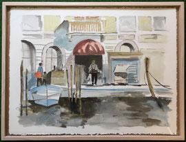 Aquarell, ca. 60 x 80 cm, mit Rahmen