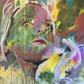 Acryl auf Leinen, 80 x 80 cm, verkauft!