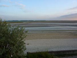 La Baie a marée basse