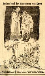 """Фелькишер Беобахтер от 16 апреля 1943 г.  Nazi Newspaper """"Velkischer Beobachter"""", April 16, 1943"""