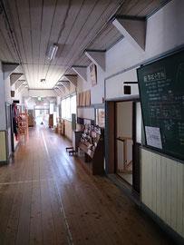 旧影石小学校(岡山県英田郡西粟...