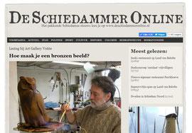 De Schiedammer online Lezing bij Art Gallery Voûte 16 juli 2018