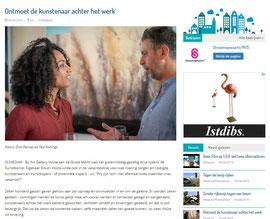Ontmoet de kunstenaar achter het werk, Schiedam24, August 5, 2019