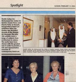 Holland Art Expo 2002 Dubai Abu Dhabi Sharjah