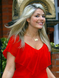 Holly Willoughby leaving home London UK