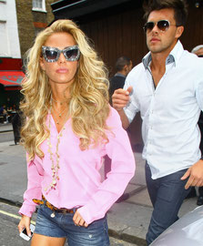 Katie Price London UK