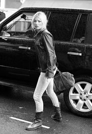 Kate Moss out in Notting Hill. London UK