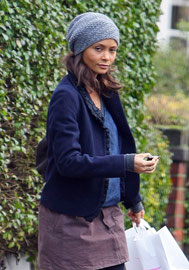Thandi Newton leaving home London UK