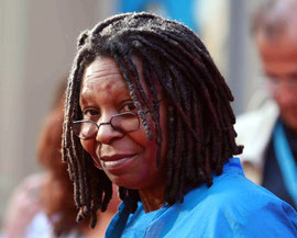 Whoopie Goldberg London UK