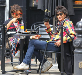Rolling Stone Ronnie Wood London UK