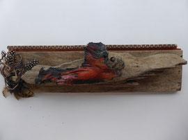 Feuervogel - ca. 40x18 cm
