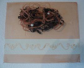 Les Perles - ca. 40x40 cm