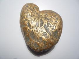 Goldenes Herz - ca. 8x8 cm