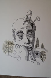 TRISTESSE - Philogo Artiste Plasticien