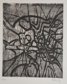 VERS LA LUMIERE 1 (ESTAMPES) - Philogo Artiste Plasticien