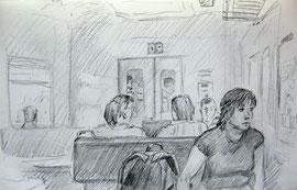 2010. Бумага, графитный карандаш. 9 х 14