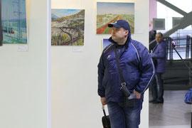 "На вокзале Самара (Куйбышевская магистраль) открылась художественная выставка ""10 выставок на 10 вокзалах"". 09.04.2013. http://kbsh.rzd.ru/news/public/ru?STRUCTURE_ID=4523&layer_id=4069&id=113029"