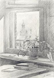 2008. Бумага, карандаш. 17 х 12