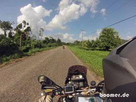 Unterwegs auf dem Hummingbird Highway...