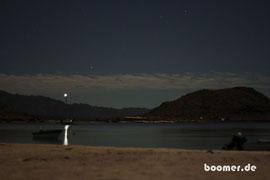 Die Bucht im Mondschein