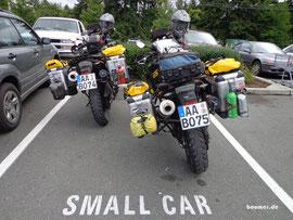 Small Cars - also nicht für 'nen echten SUV
