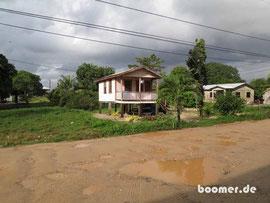 typischer Belize-Baustil