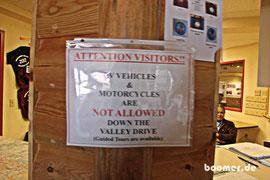 die Verbote werden leider strikt umgesetzt