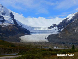 Columbia Icefield im Sommer...