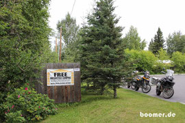 Free Motorcycle Campground...