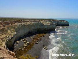 Seelöwen Kolonie an der Atlantikküste
