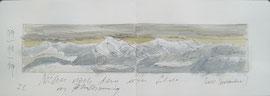 Blick zum Niesen vom Längenberg