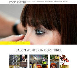 Salon Wenter Dorf Tirol - Mp Graphics & Design