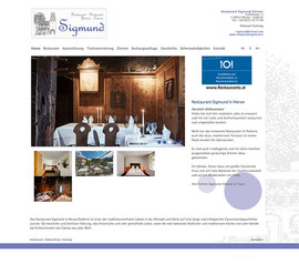 Restaurant Sigmund Meran - Mp Graphics & Design