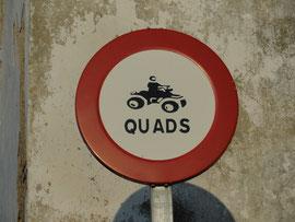 Medina Sidonia - Quads sind verboten