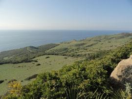 El Pelayo - vor dem Cerro del Tambor