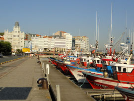 A Coruna - Hafen