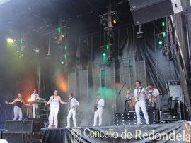 Redondela - Festa da Coca mit Orquesta ISMAEL