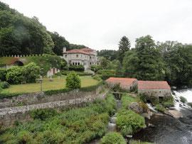 Ponte Maceira - Mühlen und Palast