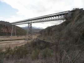 Alcaudete Via verde del Aceite Rio Guadajoz