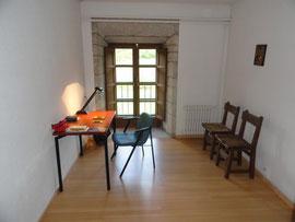 Kloster Oseira - Meine Schreibstube