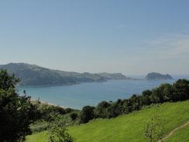Bucht von Zarautz