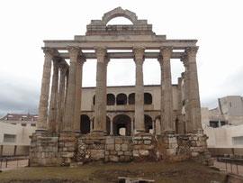 Mérida - Templo de Diana