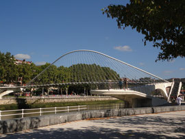 Bilbao - Santiago Calatrava Brücke